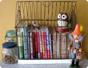 book storage idea from mypapercrane