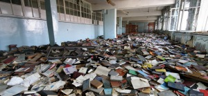 Abandoned library - 1