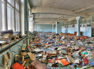 Abandoned library - 6