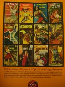 Harlequin Vintage Cover Calendar 2009