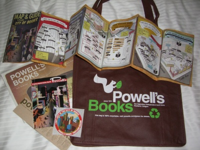 Powells goodies