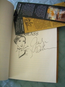 Magic Under Glass signed plus signed bookmarks