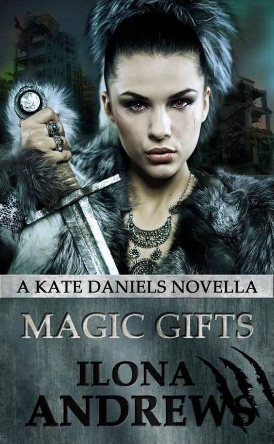 Magic Gifts By Ilona Andrews Novella Specficromantic border=