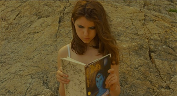 Suzy reads The Girl From Jupiter by Isaac Clarke