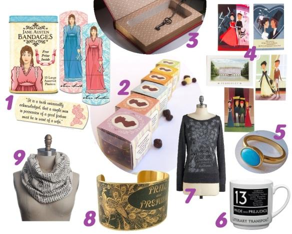 bookish austen gifts 1