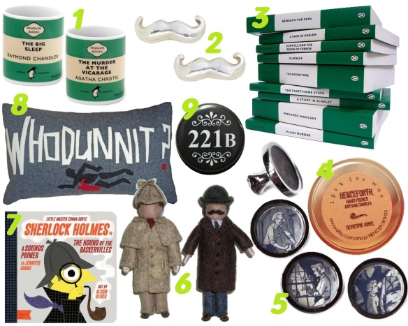 bookish detective gifts 1