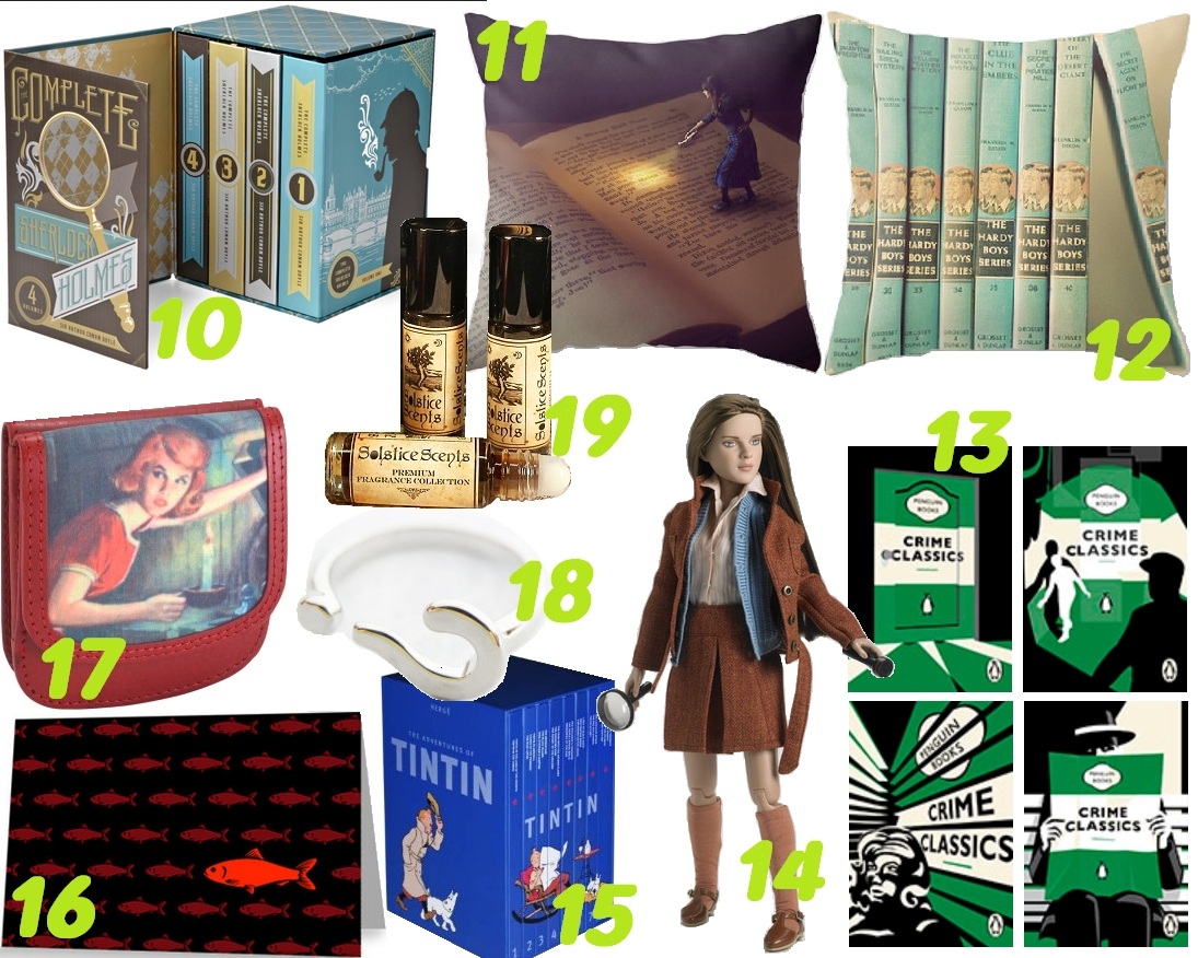 bookish detective gifts 2