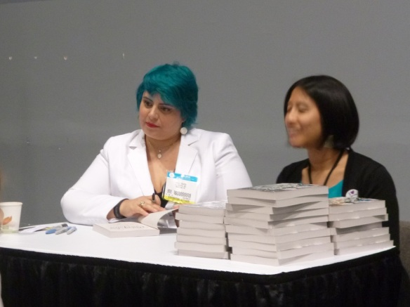 Holly Black signing The Darkest Part of the Forest