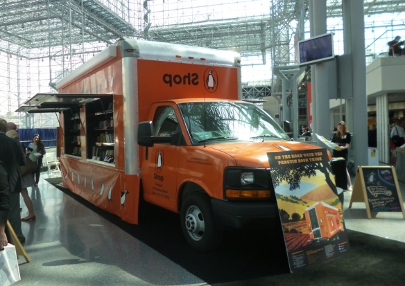 The Penguin Book Truck